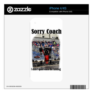 Sorry Coach Decals For The iPhone 4