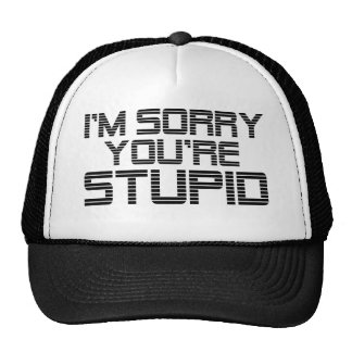 Sorry Coal Trucker Hat