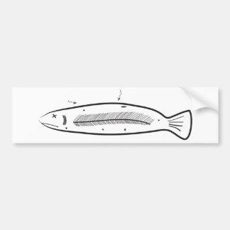 Sorry Fish Bumper Stickers
