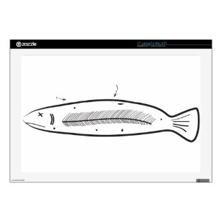 Sorry Fish Laptop Skin