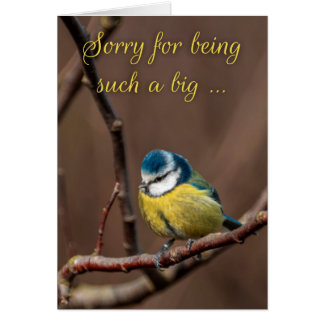 Sorry For Being Such A Big-Tit Greeting Card