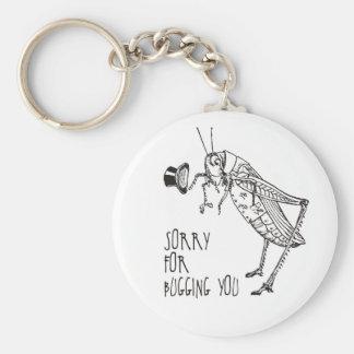 Sorry for bugging: Vintage grasshopper / cricket Key Chains