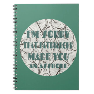 Sorry for Patriarchy Notebook