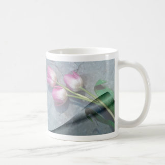 Sorry For Your Loss Pink Tulips Coffee Mug
