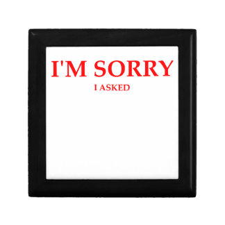 sorry gift boxes