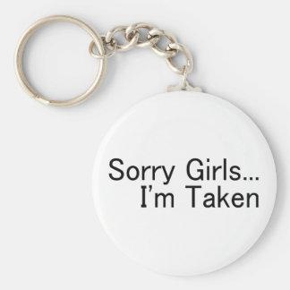 Sorry Girls Im Taken Keychains