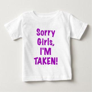 Sorry Girls Im Taken T Shirt