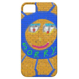 Sorry Graffiti, Art Sad Face, Sadness Regret iPhone SE/5/5s Case