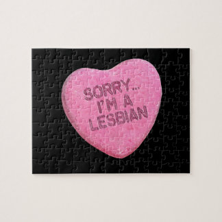 SORRY I M LESBIAN CANDY - png Jigsaw Puzzle