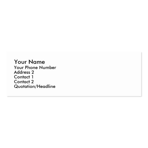 Sorry I Missed You Cards Business Card Template