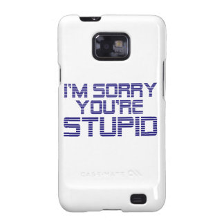 Sorry Ice Galaxy S2 Cases