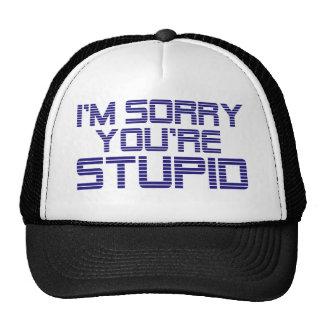 Sorry Ice Trucker Hat