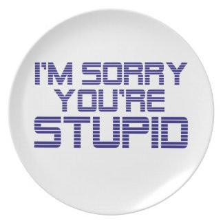 Sorry Ice Party Plates