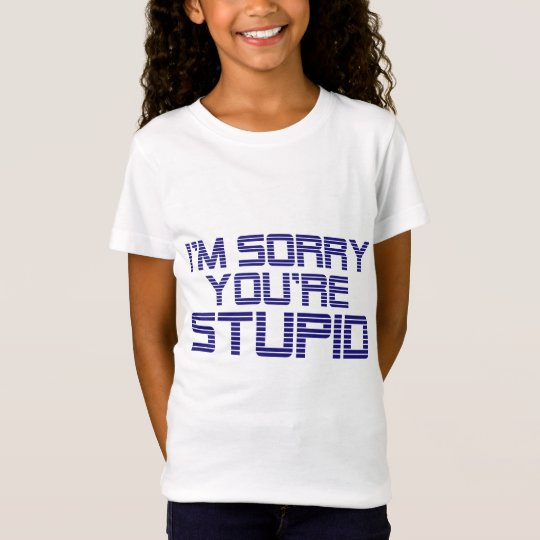 Sorry Ice T-Shirt