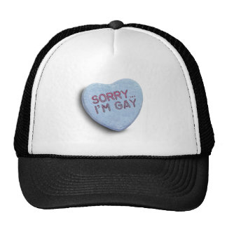 SORRY I'M GAY CANDY -.png Trucker Hat