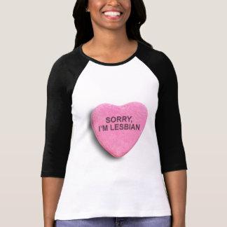 Sorry, I'm Lesbian T-Shirt
