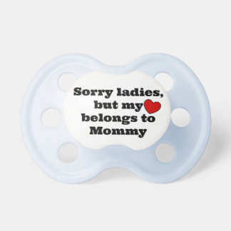 Sorry Ladies BooginHead Pacifier