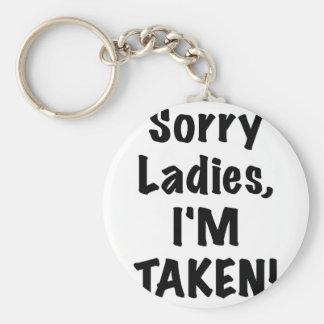Sorry Ladies Im Taken Key Chain