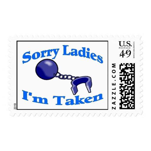 Sorry Ladies I'm Taken Postage