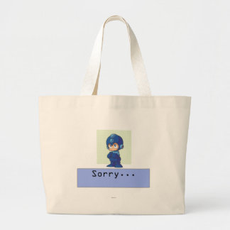 Sorry Large Tote Bag
