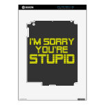 Sorry Lemonade Decal For The iPad 2