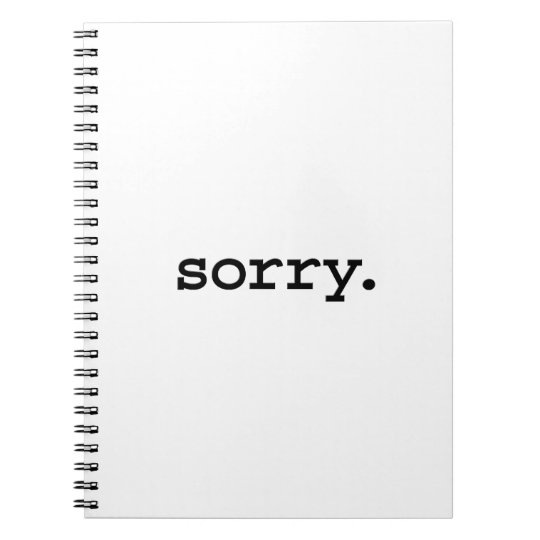 sorry. notebook