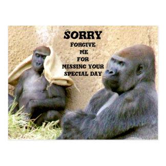 Sorry_ Postcards