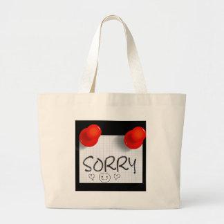 Sorry-rec23 Large Tote Bag