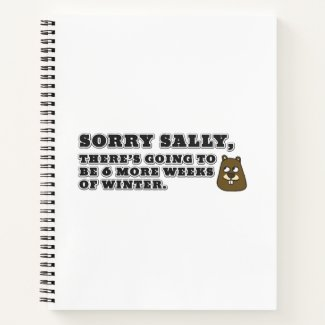 Sorry Sally, 6 more weeks of Winter Notebook