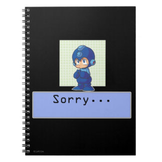 Sorry Spiral Notebook