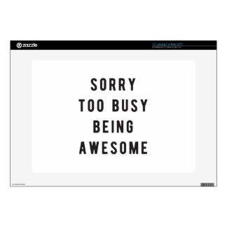Sorry, too busy being awesome decals for laptops