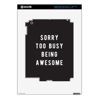 Sorry, too busy being awesome skins for iPad 3