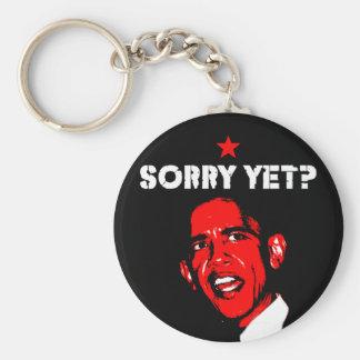 Sorry Yet? Basic Round Button Keychain