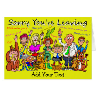 sorry you re leaving card template - 28 images - 43 best images ...