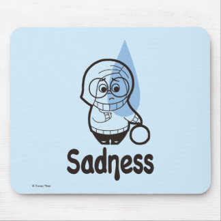 Sort of a Blue Day Mouse Pad