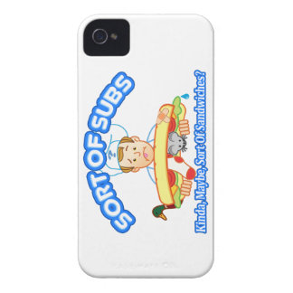 Sort Of Subs Case-Mate iPhone 4 Case