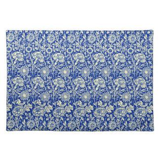 Sorta Blue Calico Woven Cotton Placemat