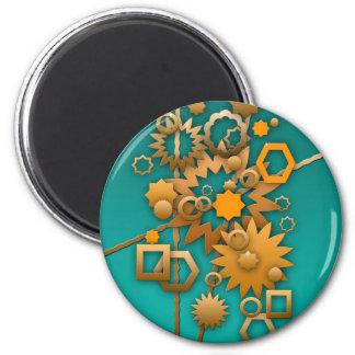 Sorta Steampunk 2 Inch Round Magnet