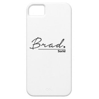 Sortd iPhone Case - with name Brad iPhone 5 Case