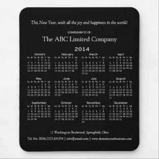 Sorteo corporativo del día de fiesta de 2014 calen alfombrillas de ratones