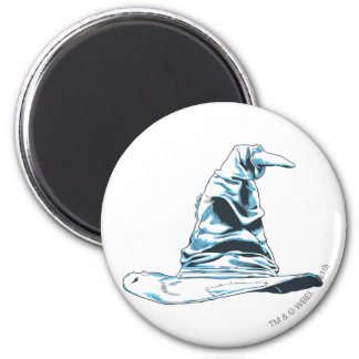 Sorting Hat 2 Inch Round Magnet