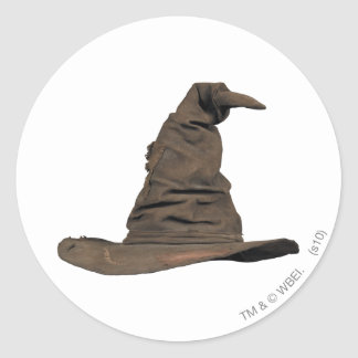 Sorting Hat Round Stickers