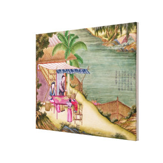 Sorting the Cocoons Canvas Print