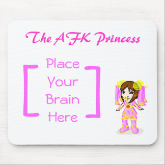 Soryia, la princesa de AFK (pequeña) Alfombrilla De Ratones