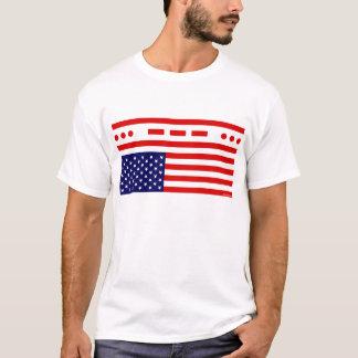 SOS Distress American Flag T-Shirt