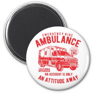 SOS Emergency Ride Ambulance EMS Rescue Magnet