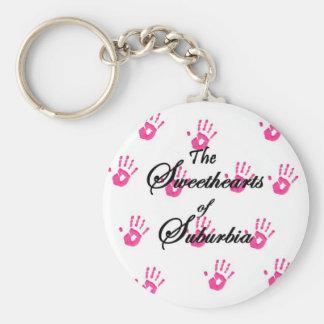 SOS Girl Keychain