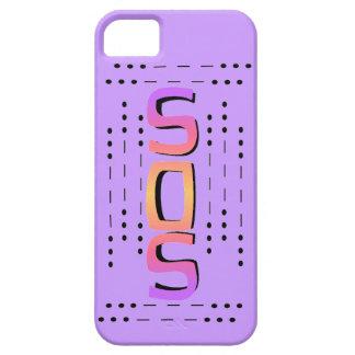 SOS Morse Code iphone 5 case