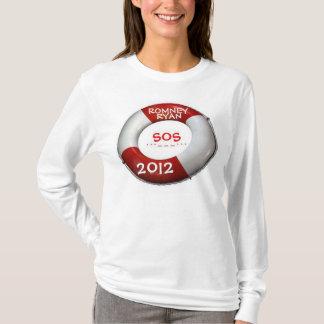 SOS Romney Ryan 2012 Lifesaver T-Shirt