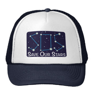 SOS Save Our Stars Trucker Hat